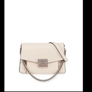 Givenchy G3 Small Pebbled Leather Crossbody Bag